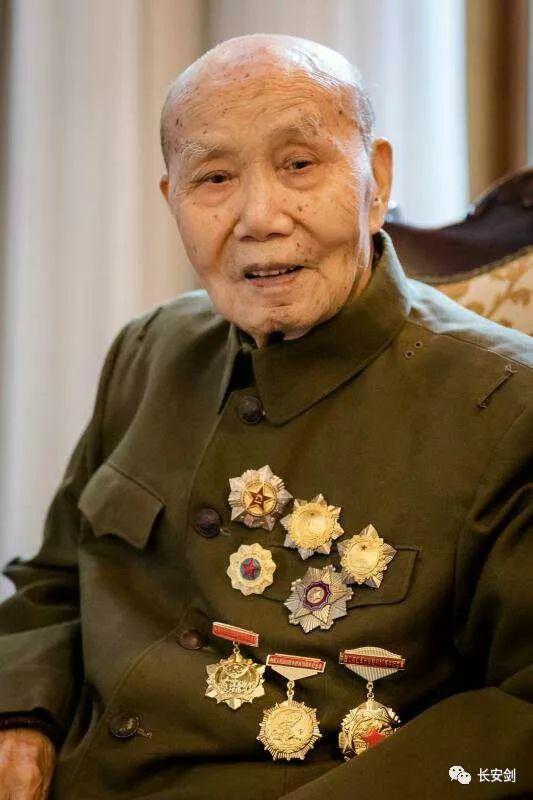 李布德将军生前照片 摄影:刘学红