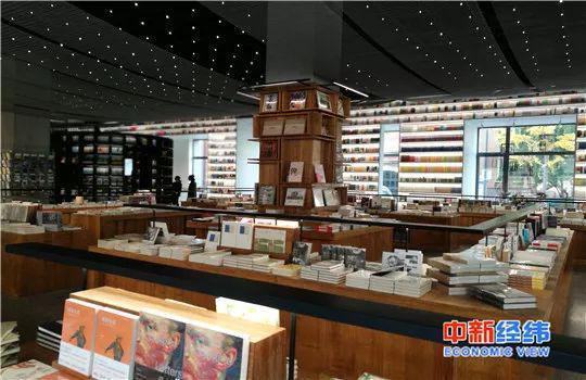 实体书店。中新经纬 罗琨 摄