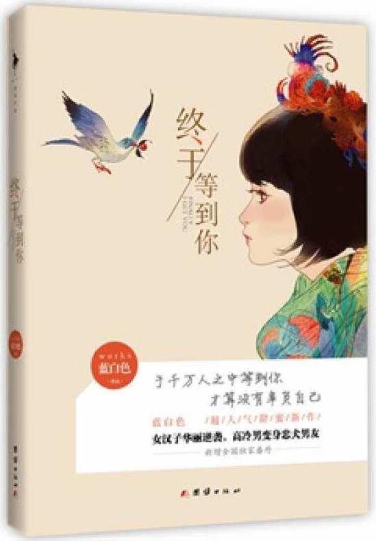 蓝白色的小说。