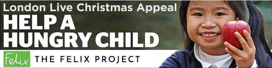 ▲立志帮助挨饿儿童的 Felix 项目