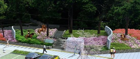 韩国鹤城公园