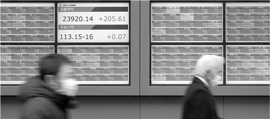 东京股市日经股指在本月实现三连阳 新华社 资料照片