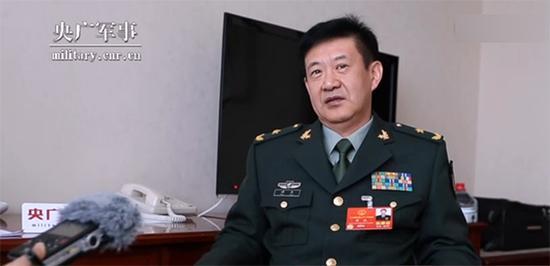 中部战区副参谋长谭民 央广军事 视频截图