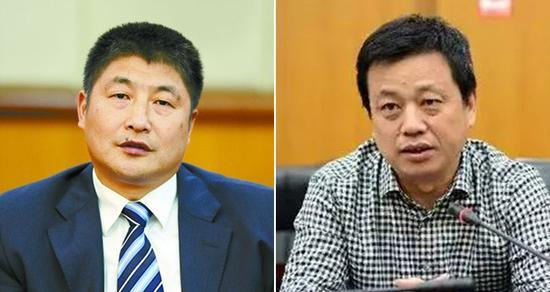 蒋益民(左) 向绪彦(右) 资料图
