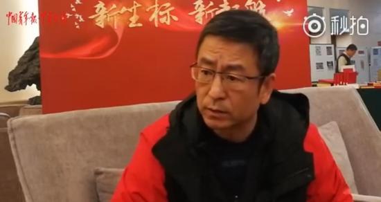 全国政协委员白岩松视频截图