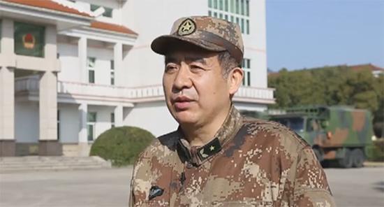 东部战区陆军第72集团军政委王文全少将 八一电视 视频截图