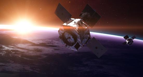 卫星资料图。(来源:俄罗斯卫星网)