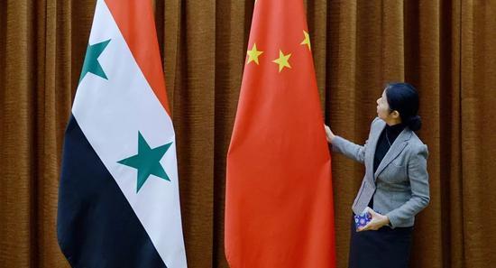 ▲中国希望恢复在叙利亚的经济影响力。(俄罗斯卫星网)