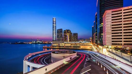 《港城魅夜》 2017年5月 香港 摄影:@星空STARZ