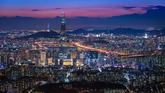 ▲首尔夜景(盖帝图像)