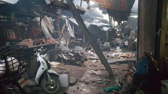 泰国一处市场发生摩托车爆炸事故 已致