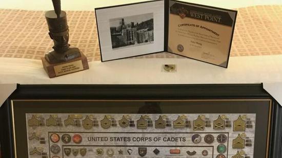 王蒙杰在遇害后被录取为美国西点军校2025级学员