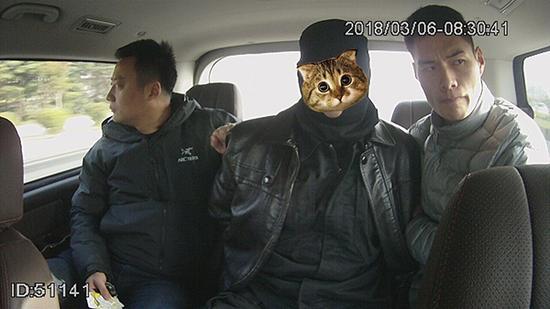 犯罪嫌疑人许某平被抓获。 警方供图