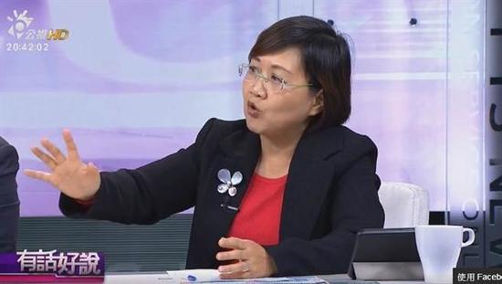 台湾民进党副秘书长徐佳青。(图片来源:台湾《中时电子报》)