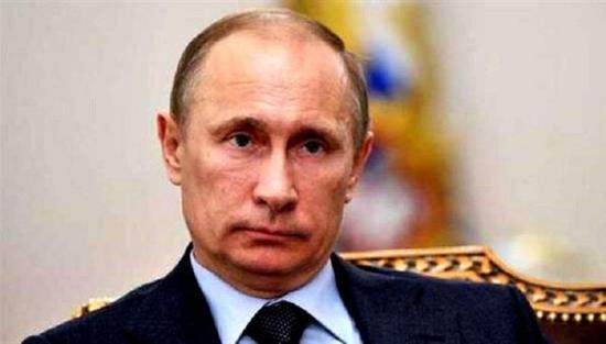 图为俄罗斯总统普京
