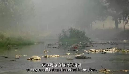▲除了河流,洗完垃圾的水,还能去哪里?