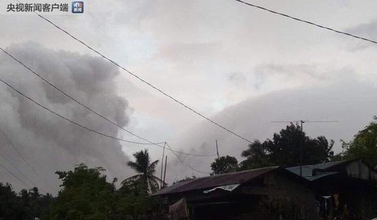 菲律宾马荣火山喷发 当地进入一级戒备状态(图)丧尸围城2昙花一现