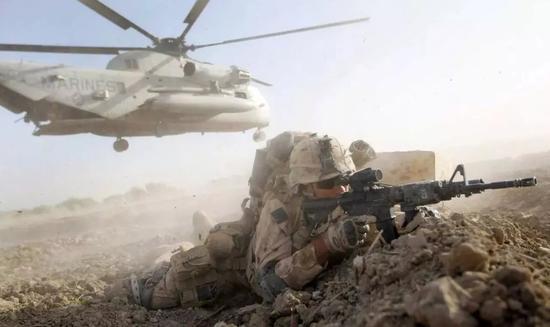 ▲驻扎在阿富汗的美军(盖帝图像)