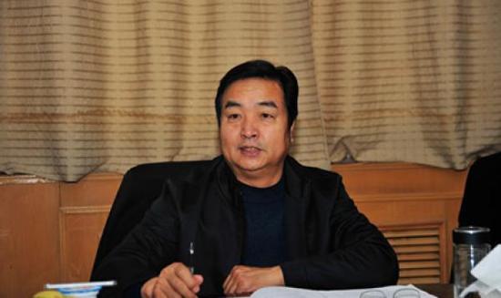 宁夏农垦团体无限公司原董事长、党委书记王永忠 材料图