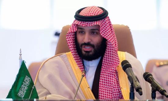 王储穆罕默德·本·萨勒曼↑