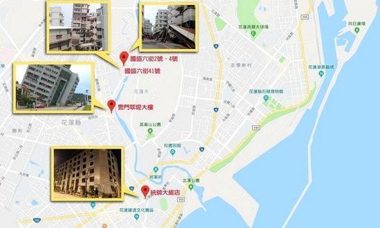 专家称,倒塌建筑都在断层上。