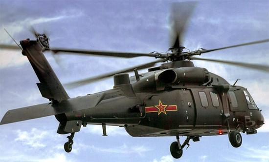 新型通用直升机。  图片来源:《兵工科技》杂志