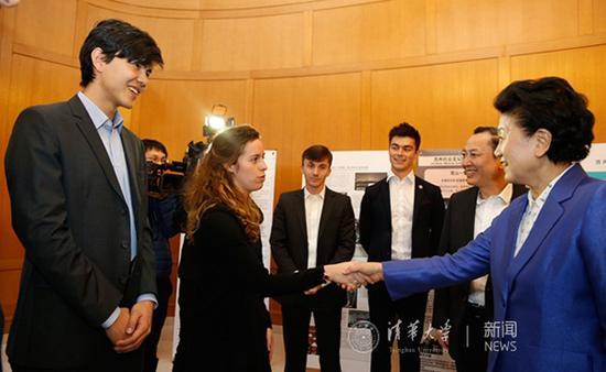 刘延东调研苏世民书院。