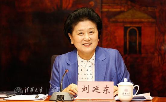 刘延东同志讲话。