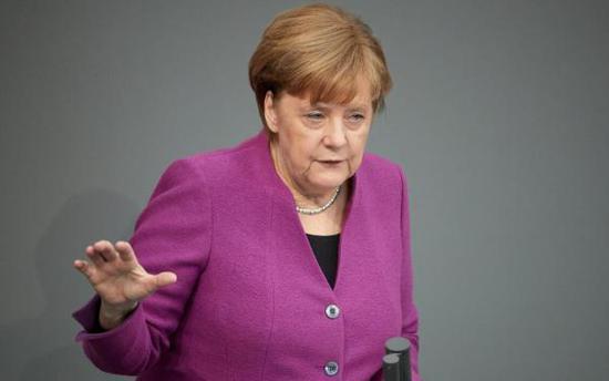 德国总理默克尔。 东方IC 图