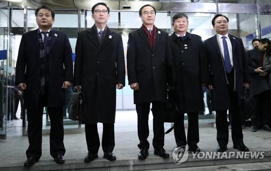 朝韩9日高级别会谈韩方代表
