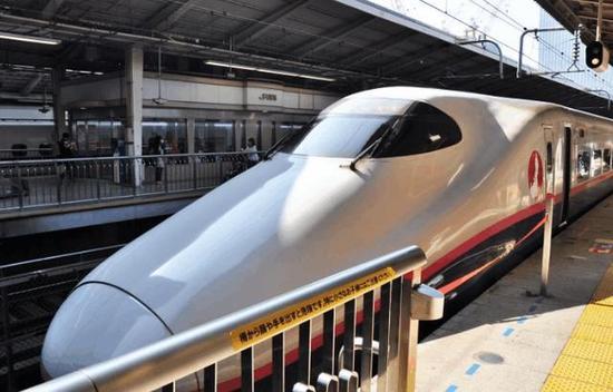 资料图:日本新干线。