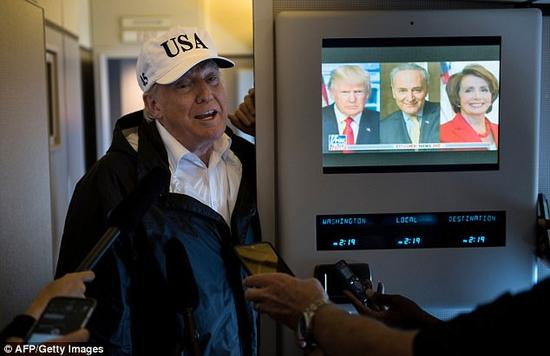 美国总统特朗普(图源:法新社)