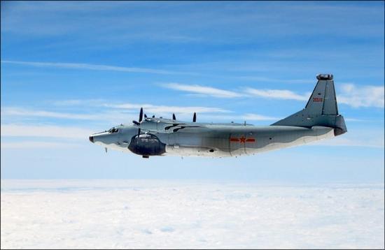 台媒称,解放军空军18日再度绕台飞行。