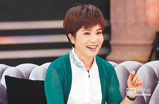 台湾资深媒体人李艳秋。(图片来源:台湾《中时电子报》)