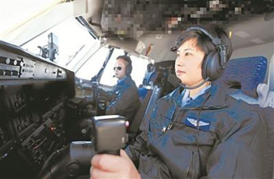 陈金兰率机组执行大航程远海训练任务。刘畅 摄
