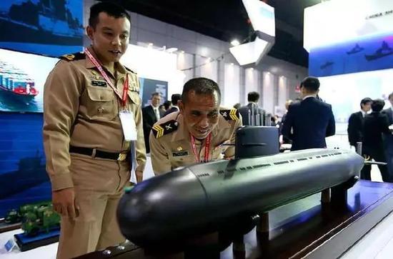 ▲中国S-26T常规动力潜艇