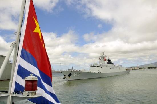 """大通彩票导航:外媒:中国再度获美邀请参加""""环太平洋""""军事演习"""