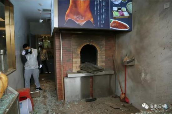 海南文昌一家试营业餐厅突发爆炸 致2人