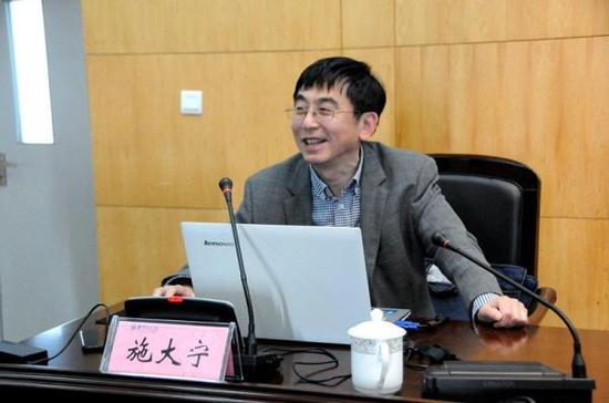 全国政协委员、南航大副校长施大宁 资料图