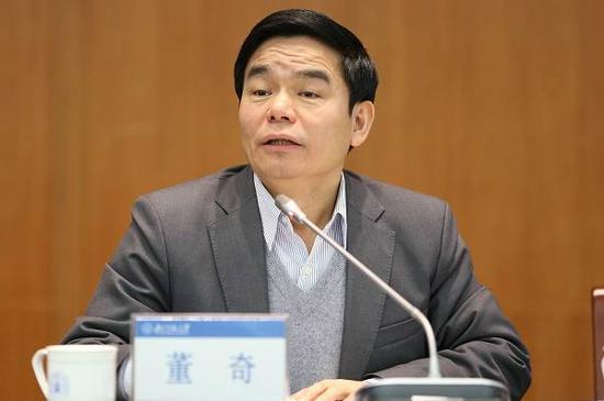 ▲北京师范大学校长董奇。图/北京师范大学新闻网