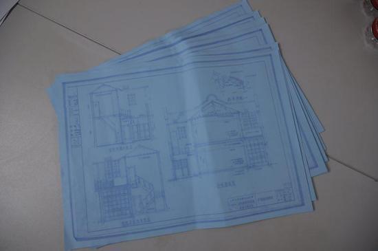 1960年,上海市民用建筑设计院工程师乔舒祺绘制了一套威海卫路甲秀里复原设计图纸,成为这次修缮的珍贵蓝图。