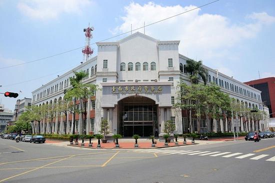 台南市警察局。(图片来源:台湾《联合报》)