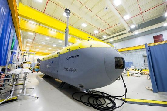 美军正在研制的大直径无人潜航器。