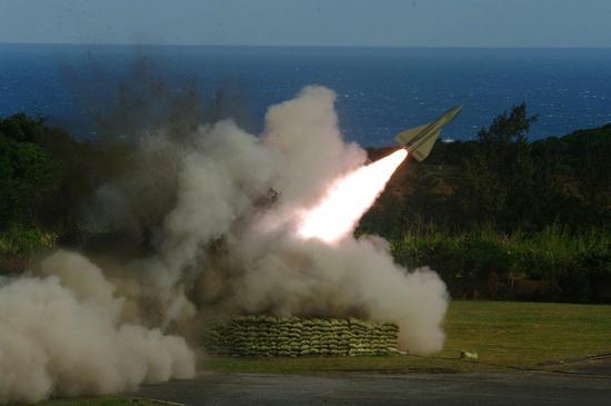 鹰式导弹(来源:中时电子报)