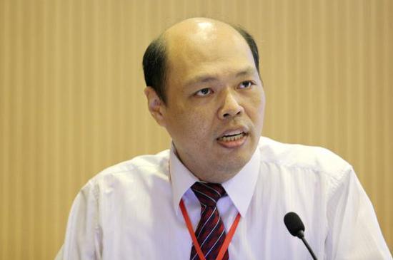 前中国国民党大陆事务部主任黄清贤 视觉中国 资料图