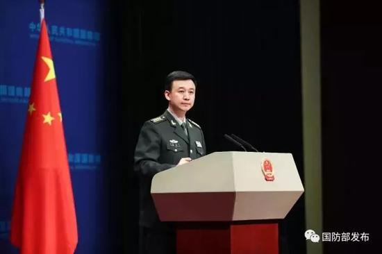 国防部谈战机越岛链:没有什么锁链能够锁住中国