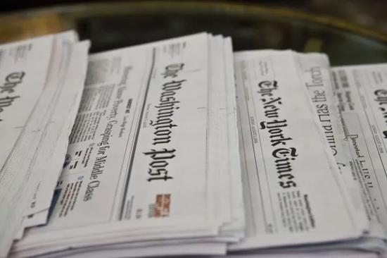 ▲美國老牌報紙《華盛頓郵報》已有上百年曆史。圖據東方IC