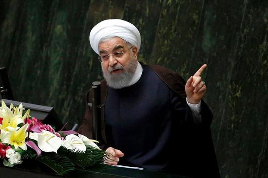 伊朗总统:沙特满足两个条件 伊朗可与其复交