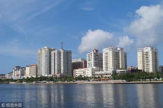 ▲海南三亚海景房。 图/视觉中国