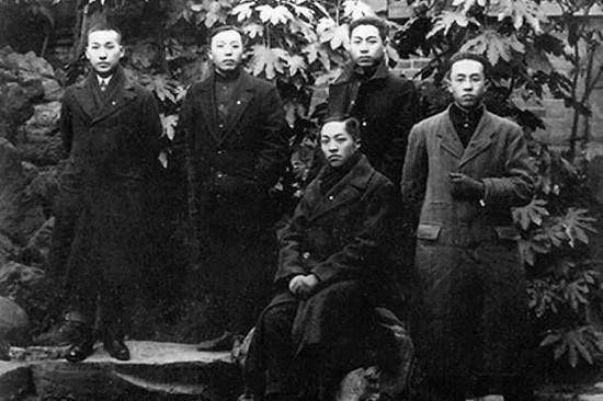 1919年,五四运动时期的周恩来。